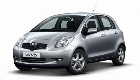 Toyota yaris типично женской моделью авто